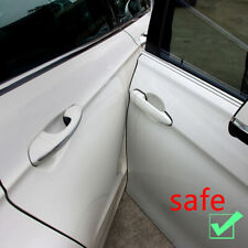 5M Car Door Edge Guards Clear U-Shape Carbon Fiber Seal Protector Accessories (Fits: Daewoo)