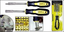 34 in 1 Multi-Purpose Precision Screwdriver Set TV Repair Hand Tool Socket Kits