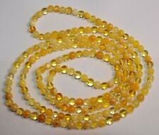 140cm. RUSSIAN SOVIET BALTIC SEA AMBER NECKLACE 老琥珀 KALININGRAD STONE ROCK PIN