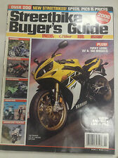 Streetbike Buyer's Guide Magazine '06 Yamaha YZF-R1 June 6, 2006 050417nonr