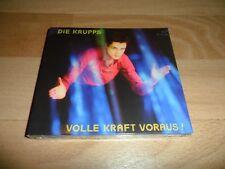 DIE KRUPPS - VOLLE KRAFT VORAUS! (RARE 2 X CD SEALED CD ALBUM) INDUSTRIAL METAL