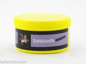 Bense & Eicke Sattelseife / Sattlerseife mit Schwamm, 250 ml Dose