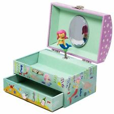Mermaid Musical Jewellery Box Beautiful Dreamer Girls Childrens Jewelry Drawer