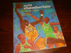 1973 Los Angeles Lakers Wilt Chamberlain Paperback Book by Kenneth Rudeen