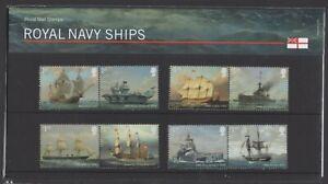 2019  Royal Navy Ships Presentation Pack 576 - Ref:5618