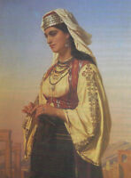 "high quality oil painting handpainted on canvas ""greek beauty """