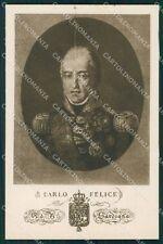 Militari V Reggimento Lancieri di Novara Savoia Carlo Felice cartolina XF2065