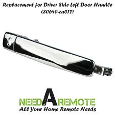 Front Left Chrome Exterior Outside Car Door Handle for Nissan Murano Rogue