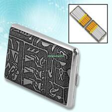 Silver Vintage Egyptian Cigarette Case Box Holder Gift 5023375