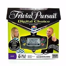 Trivial Pursuit Digital Choice Electronic Game Download Your Own Questions NEW