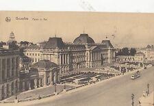 B79873 bruxelles palais du roi tramway belgium front/back image