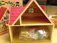 1996 Sanrio Hello Kitty House Play Set + 2 Boxes of Furniture (No Figure)