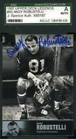 Andy Robustelli 1997 Upper Deck Jsa Slabbed Certified Sgc Autograph Authentic