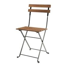 Folding Chair Camping Terrace Stool Wooden Acacia