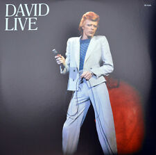 DAVID BOWIE - DAVID LIVE, 3 LP 180GR HEAVY WEIGHT VINYL TRIFOLD SL (SEALED)