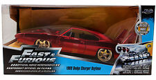 Jada Toys 1969 Dodge Charger Daytona 1:24 Fast and Furious Diecast 97060 Red