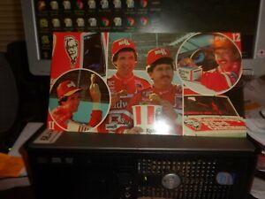 1984 Darrell Waltrip & Neil Bonnett Kentucky Fried Chicken NASCAR Postcard