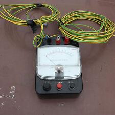 Sanwa instrument Works PDR 100 705040 10 ohm Earth resistance meter