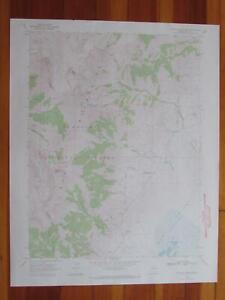 Franklin Lake NW Nevada 1971 Original Vintage USGS Topo Map