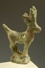 GRECO-ROMAN BRONZE THREE POINT STAG CIRCA 1ST CENTURY BC/AD