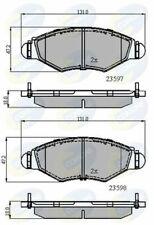 PASTIGLIE FRENO ANTERIORE PEUGEOT 206 1.4i Hatchback Benzina 98-10 2A//C 75HP 131x47.2mm