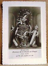 Madonna del Rosario di Pompei [grande, b/n, viaggiata]