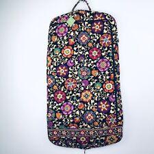 Vera Bradley Women's Hanging Garment Bag Suzani Floral Black Travel NWT $135