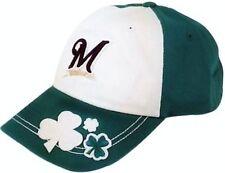 NEW Milwaukee Brewers Molly Flanagan Shamrock Baseball Cap Hat - FREE Shipping!