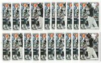 x50 LUIS ROBERT 2020 Bowman #18 Rookie Card RC logo lot/set Chicago White Sox Mt