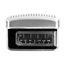 Measure Ruler Rhodium Plate Money Clip