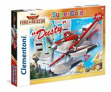 Clementoni - Puzzle, 104 pcs, Planes Fire & Rescue