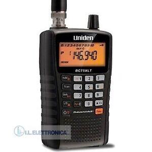 UNIDEN Ubc 75 Xlt Empfänger Laptop Scanner Radio 300 Kanäle Airband 800105