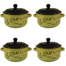 "Malacasa BLANCE 3X Porcelain 6.75/""//8/""//9.25/"" Square Soup Bowl Ceramic Dinner Set"