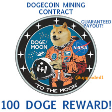 100 DOGECOIN🚀 100 DOGE coins - CRYPTO MINING-CONTRACT Crypto Currency