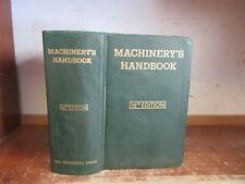 Old MACHINERY'S HANDBOOK 1963 16TH EDITION MECHANICAL ENGINEER TOOLS MACHINIST +