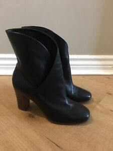 CELINE Paris Real Soft Leather Boots, Size 36, New Ex Display Stock No Box