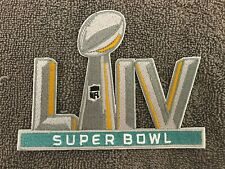 """Super Bowl 54 Patch LIV 5"""" Embroidered Patch Iron On Sew On 2/2/20 High Quality"""