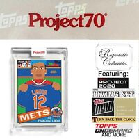 2021 Topps Project 70 - 1985 Francisco Lindor - Card #7 by Keith Shore - NY Mets