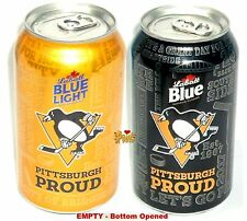 PITTSBURGH PROUD PENGUINS LABATT BEER CANS NHL ICE HOCKEY CANADA-USA SPORT 2017+
