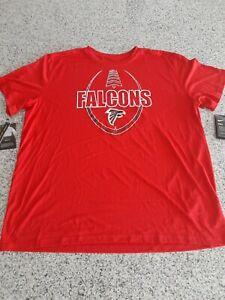 Nike Atlanta Falcons Men's Large Shirt Red Dri-fit NWT NFL Mens Size 2XL