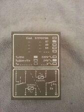 "Carpigiani Ice Cream Machine Timer Fiber EA55 10'-2"" Anony Part #: IC573100186"