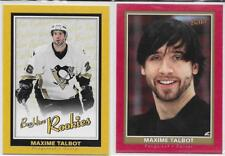 05-06 BEEHIVE ROOKIE 2 CARD LOT MAXIME TALBOT PENGUINS #141