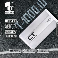 CT Sounds T-1000.1 Monoblock Car Audio Amplifier 1000w RMS Subwoofer Mono Amp
