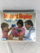 INSTANT REPLAY VINTAGE PARKER BROTHERS GAME 1987 NIB 1980's 80's