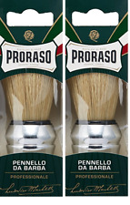 Proraso Professional Shaving Brush (2 Pack)