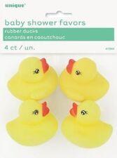 Baby Shower Girl detalles & Decoración Habitación/mesa/pastel Fiesta/favorunique patos de goma (13944)