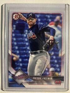 2018 Bowman Freddie Freeman Atlanta Braves #41