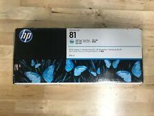 Genuine HP C4934A #81 Light Cyan Dye Ink Cartridge EXPIRED 8/15