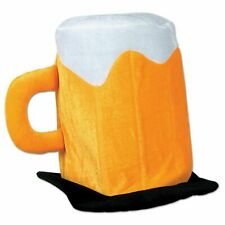 Oktoberfest Plush Beer Mug Hat