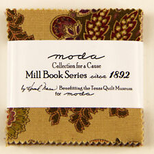 "MINI CHARM PACK~COLLECTIONS FOR CAUSE~MILL BOOK SERIES 1892~MODA~42-2.5"" SQ"